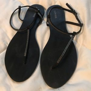 T-Strap Express Sandals - Like New